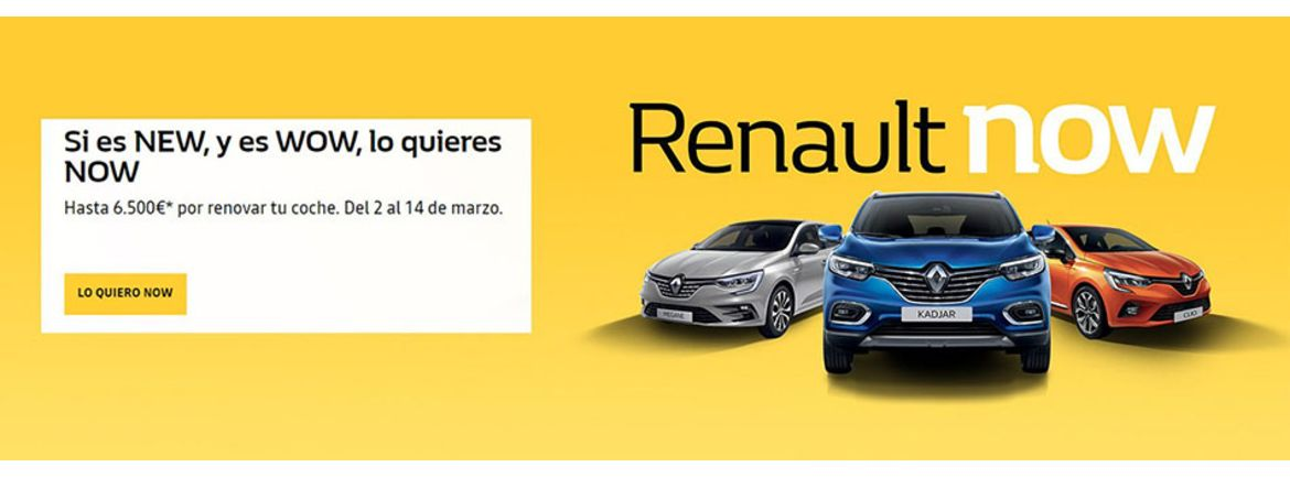 renault now promo 2020